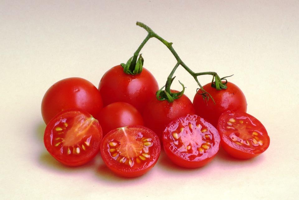 Tomato, Fruit Vegetable, Cut