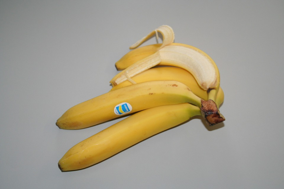 Banana, Food, Fruit, Healthy, Vitamins, Obstbanane