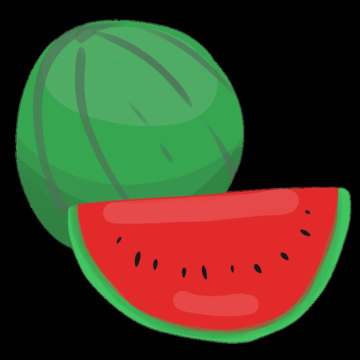 Fruit, Watermelon, Summer