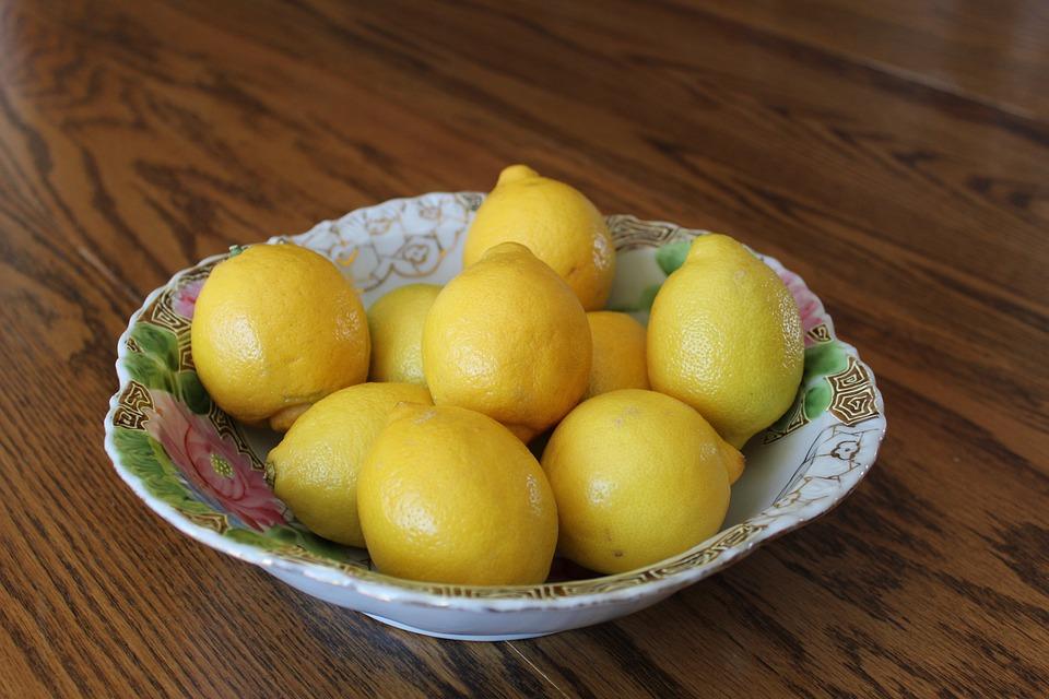 Lemon, Lemons, Fruit, Yellow, Citrus, Pastel, Easter