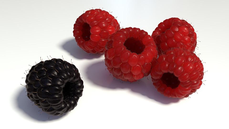 Raspberries, Berries, Fruits, Outsider, Unequal