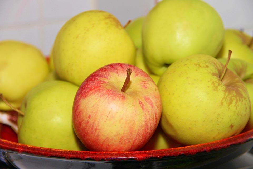 Apple, Fruit, Fruit Bowl, Fruits, Healthy, Frisch