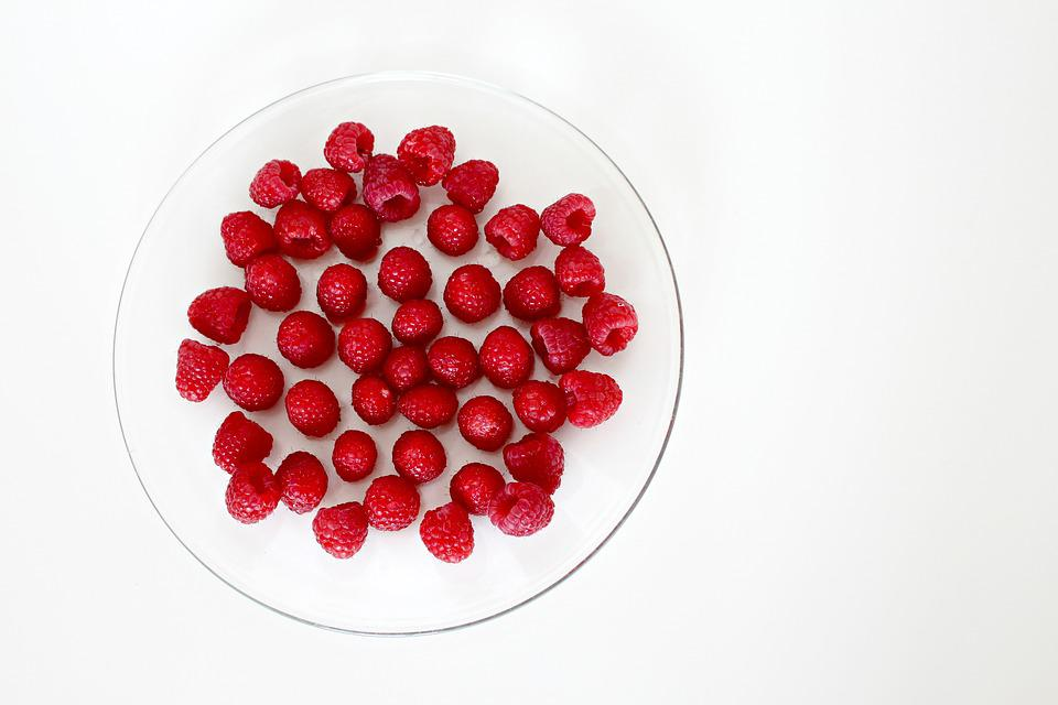 Raspberries, Fruit, Healthy, Fruits, Red, Berries, Food