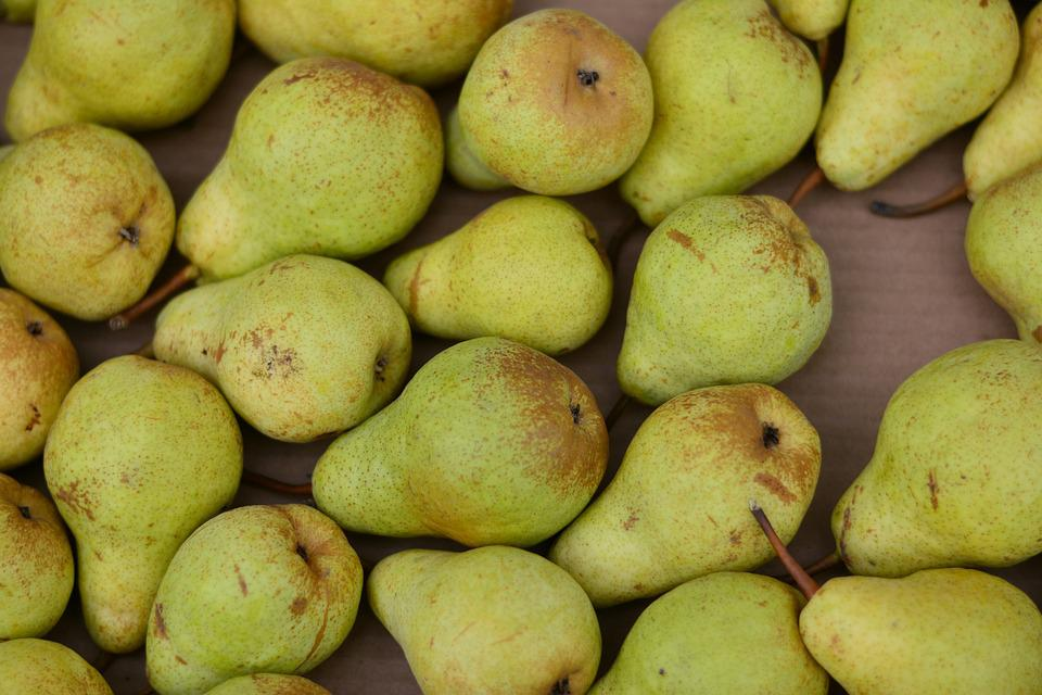 Pears, Fruit, Fruits, Harvest, Green Yellow