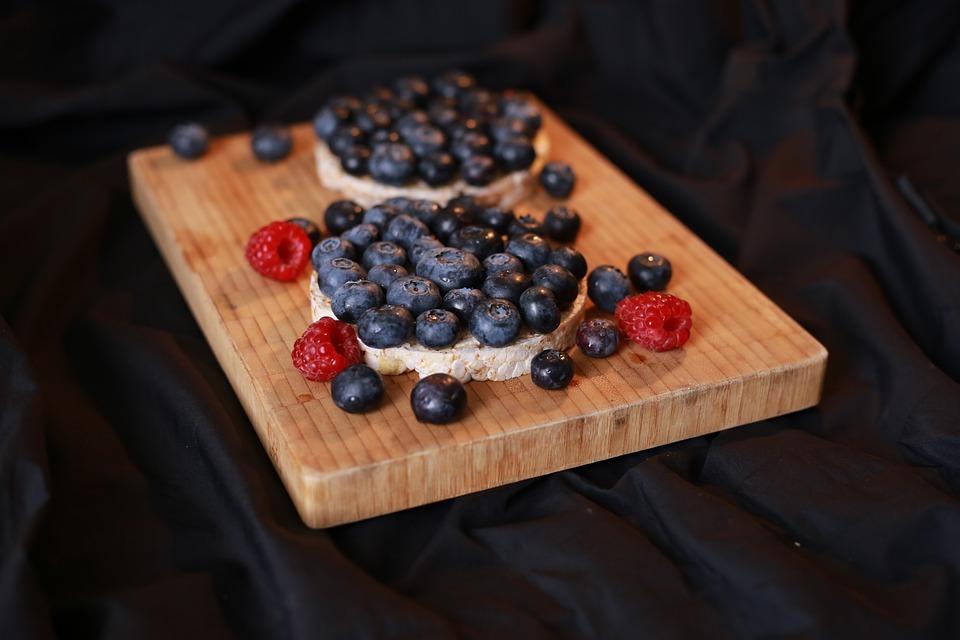 Blueberries, Berries, Fruit, Raspberries, Fruits
