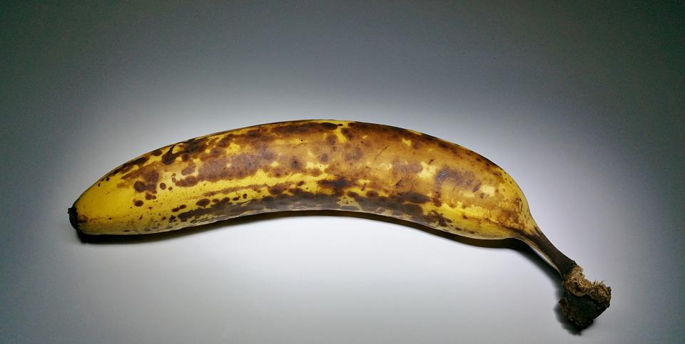 Banana, Fruit, Ripe, Brown, Fruits