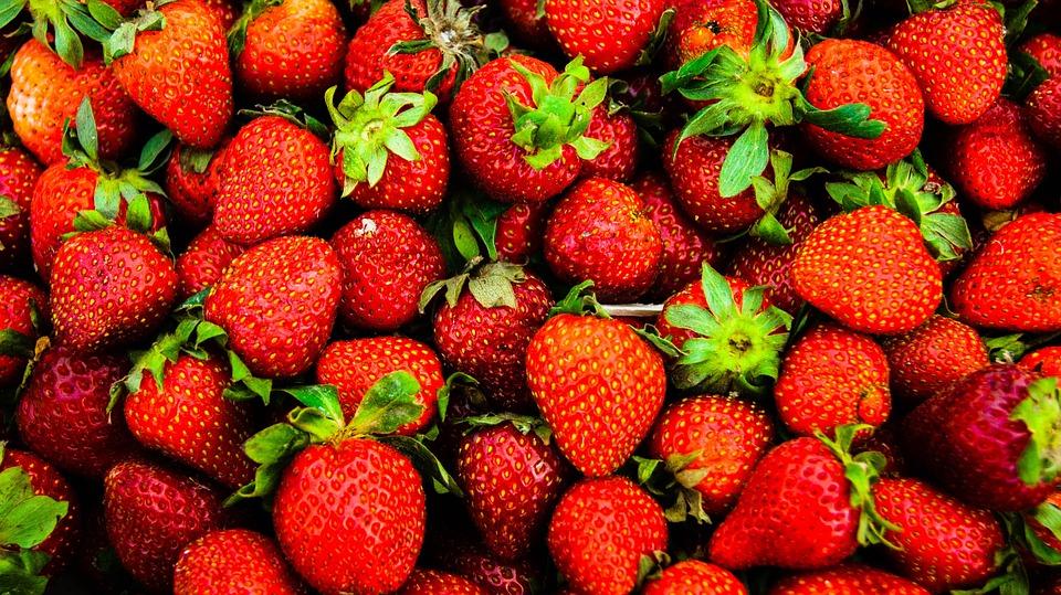 Strawberries, Red, Fruits, Berries, Fresh, Ripe, Sweet