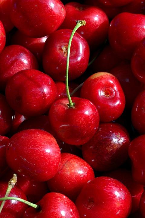 Cherries, Fruit, Fruits, Nature, Vitamins