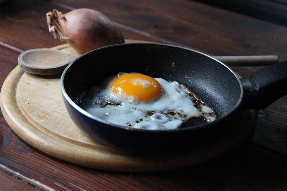 Fried, Frying Pan, Breakfast Egg, Yolk, Fry