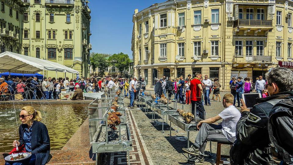 The Feast Of The Passover, Odessa, Fry Sheep