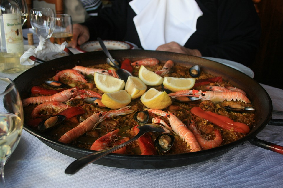 Paella, Eat, Fry Up, Spain, Pan, Main Course, Enjoy