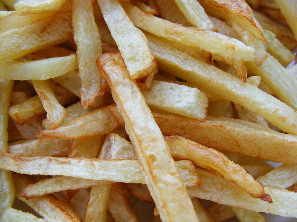 French Fries, Potatoes, Food, Fryed, French, Fast