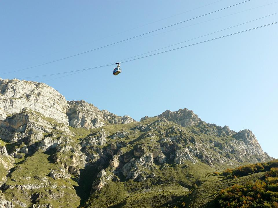 Picos De Europa, Mountains, Fuente De, Cable Car Rides