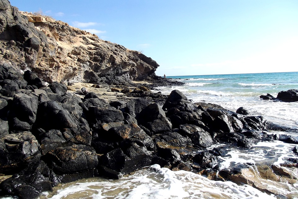 Fuerteventura, Atlantic, Canary Islands, Sea, Spain