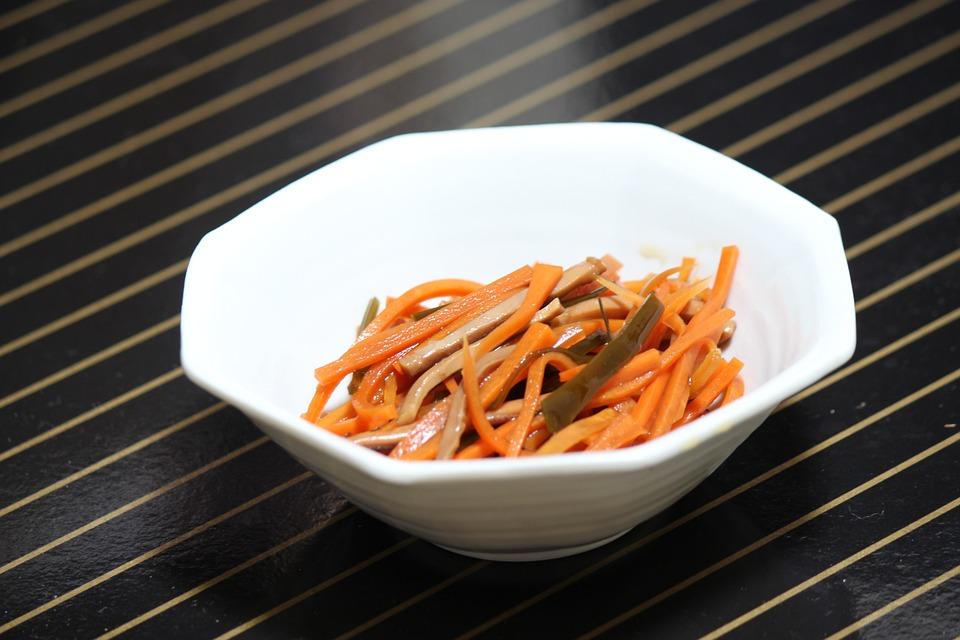 Squid Carrots, Local Cuisine, Fukushima