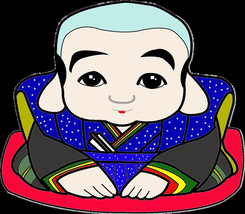 Fukusuke, Japan, A Mascot, Figurine