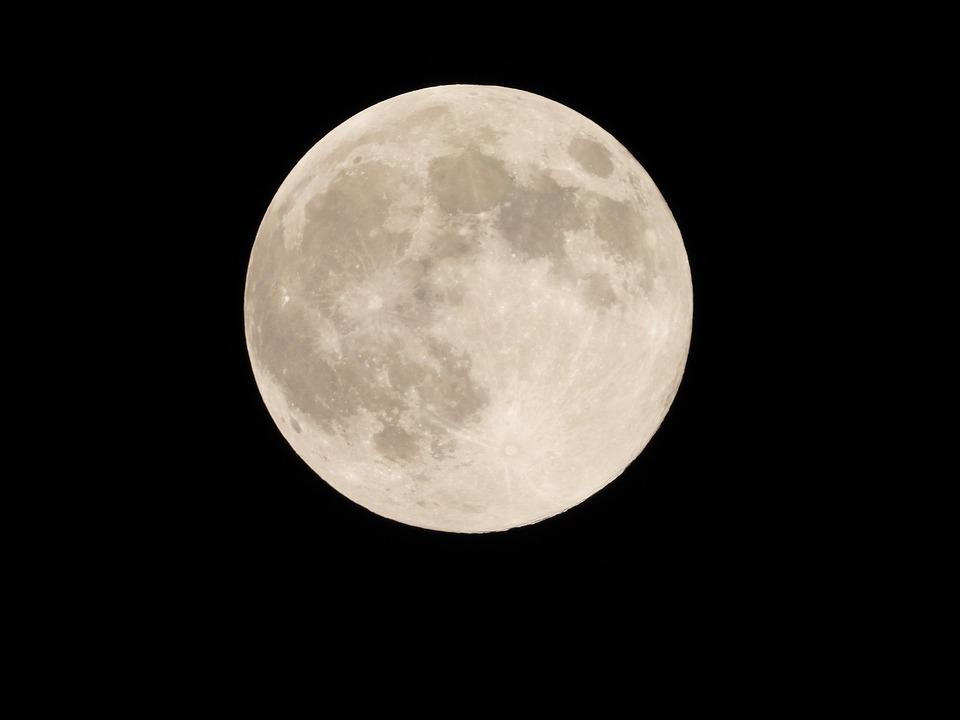 For, Full Moon Day, The Night Sky, The Universe
