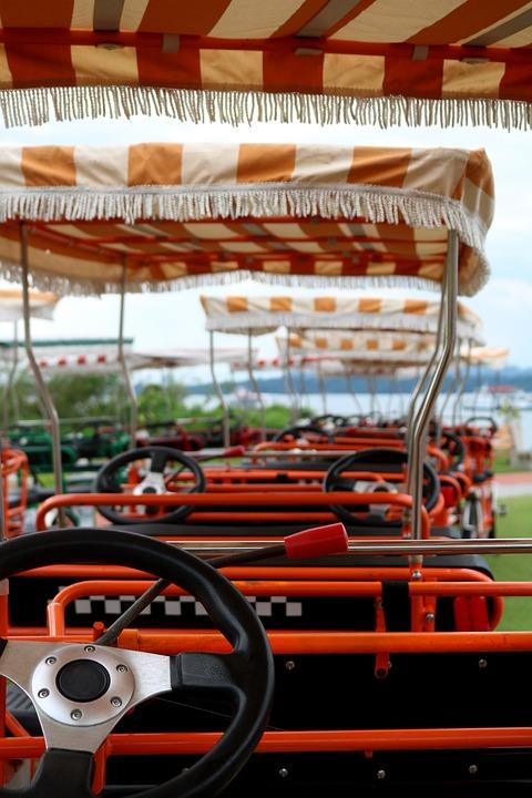 Bicycle, Quadricycle, Fun, Cinta Costera, Amador