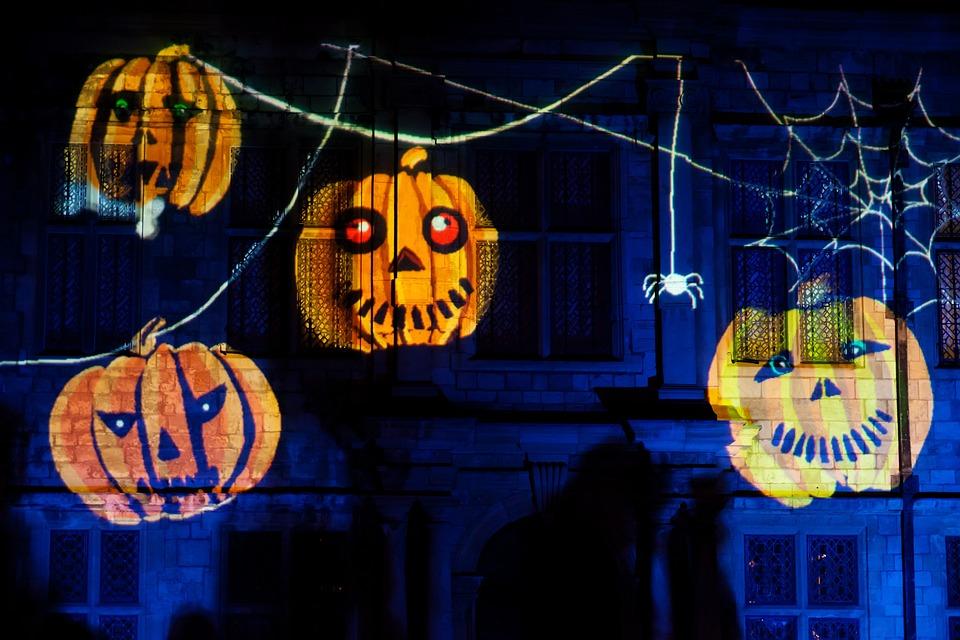 Autumn, Black, Celebration, Dark, Decoration, Fun, Glow