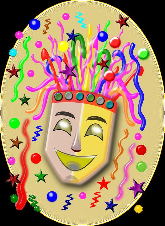 Carnival, Party, Fun, Mask, Fancy Feast, Pierrot