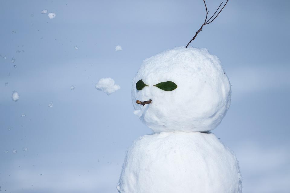Snow, Snowman, Winter, Christmas, Fun, Snowflakes