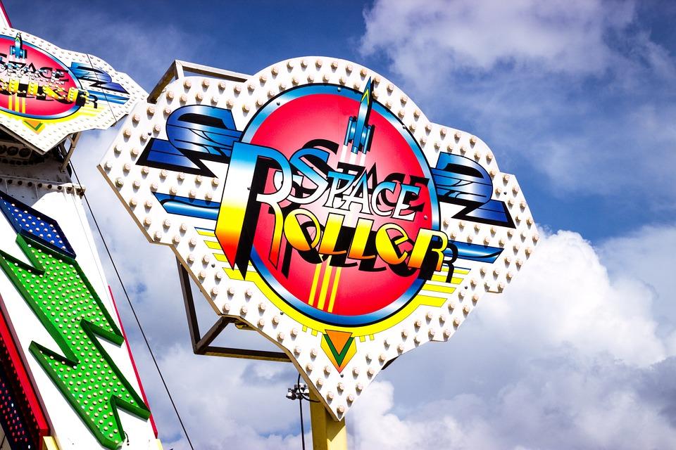 Ride, Amusement Ride, Fair, Texas, Fun, Space Rocket