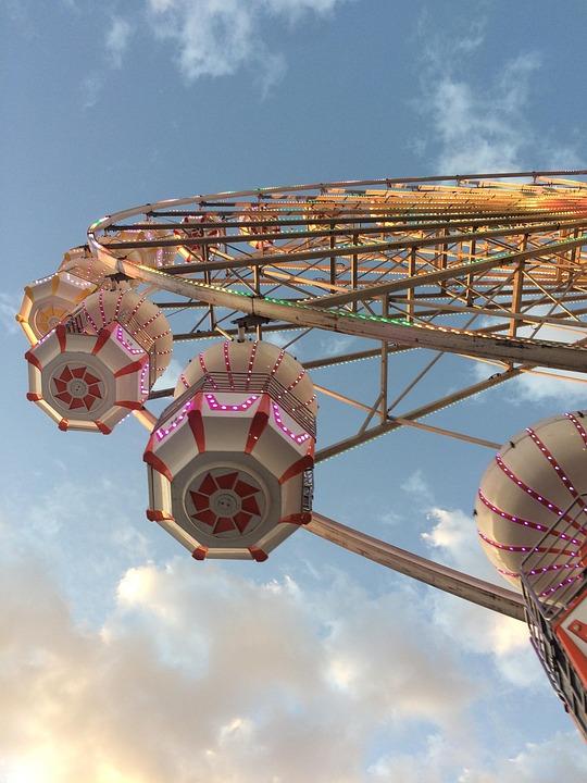 Fair, Wheel, Ferris Wheel, Colorful, Festival, Fun