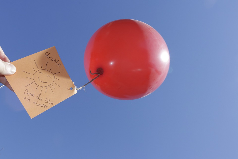 Balloon, Wishes, Celebration, Sky, Map, Fun, Happy