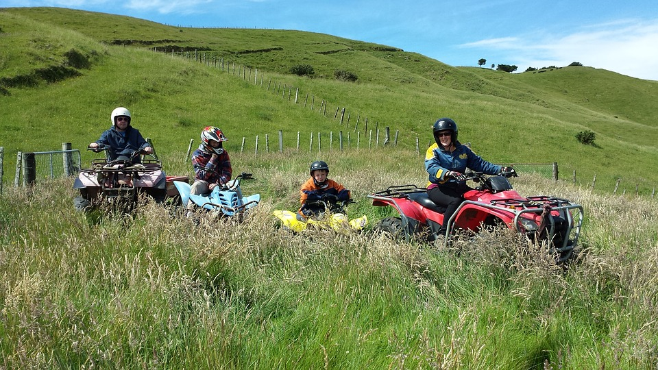Fun In The Sun, Quad Bikes, New Zealand