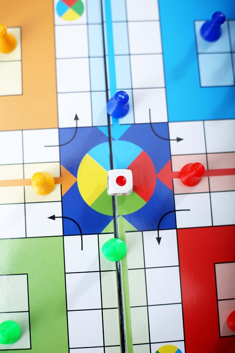 Ludo, Game, Board, Play, Fun, Family, Cube, Toy, Red