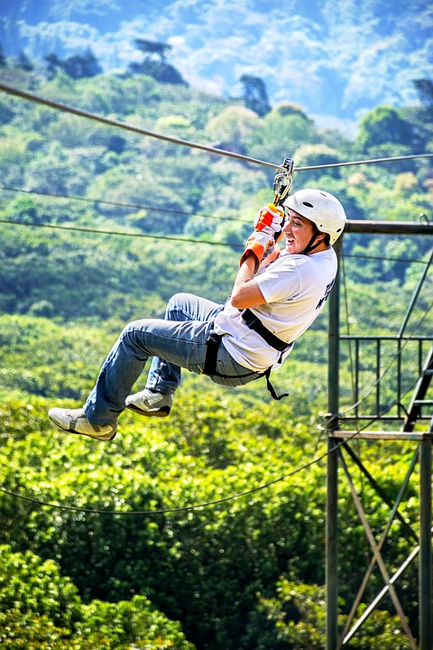 End, Sport, Nature, Fun, Canopy, Tyrolean, Tourism