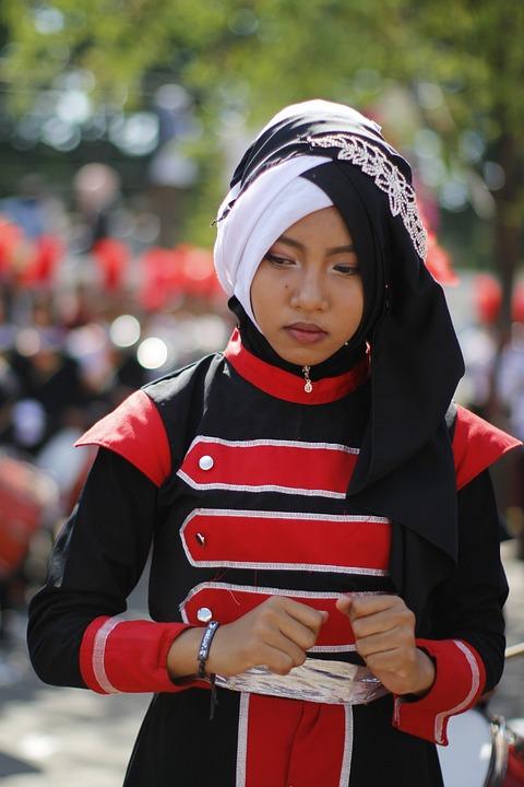 Winter, Competition, Portrait, Fun, People, Wear, Hijab