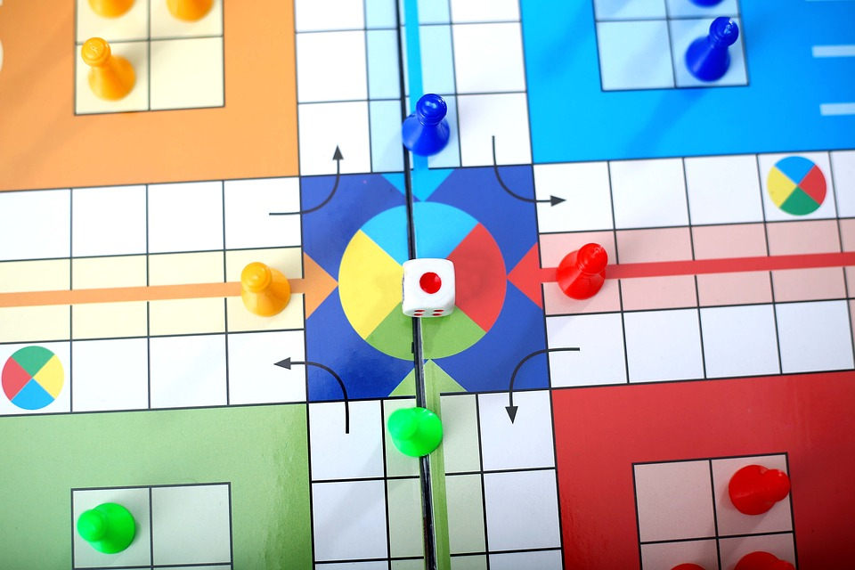 Ludo, Game, Play, Board, Cube, Fun, Family, Toy, Red