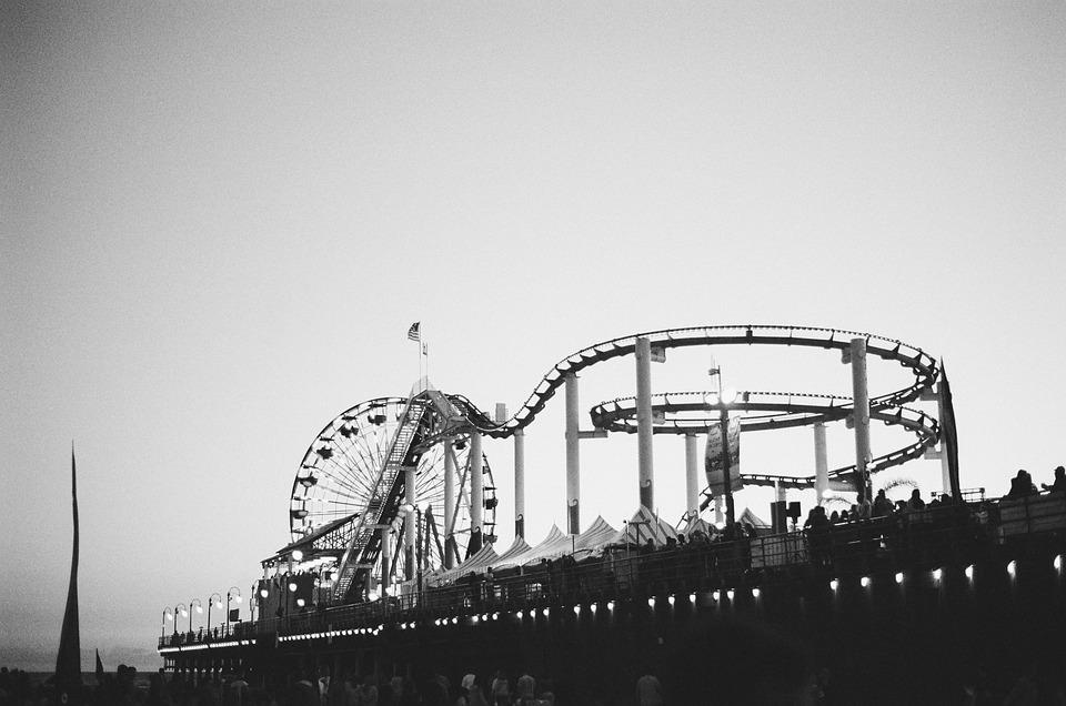 Amusement Park, Roller Coaster, Fun Ride, Entertainment