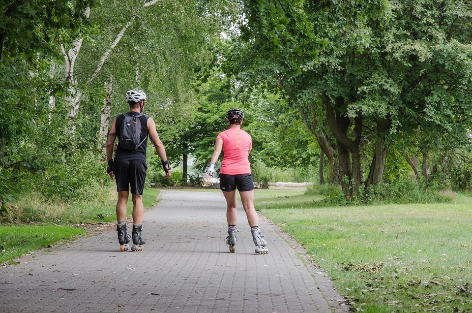 Roll, Fun, Sport, Leisure, Roller, Inliner, Nature