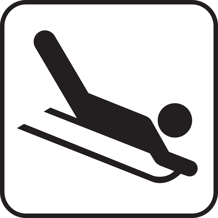 Sled, Skid, Tobogganing, Sports, Winter, Snow, Fun