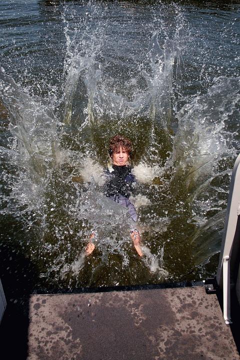 Splash, Swimming, Water, Summer, Fun, Lake, Vacation