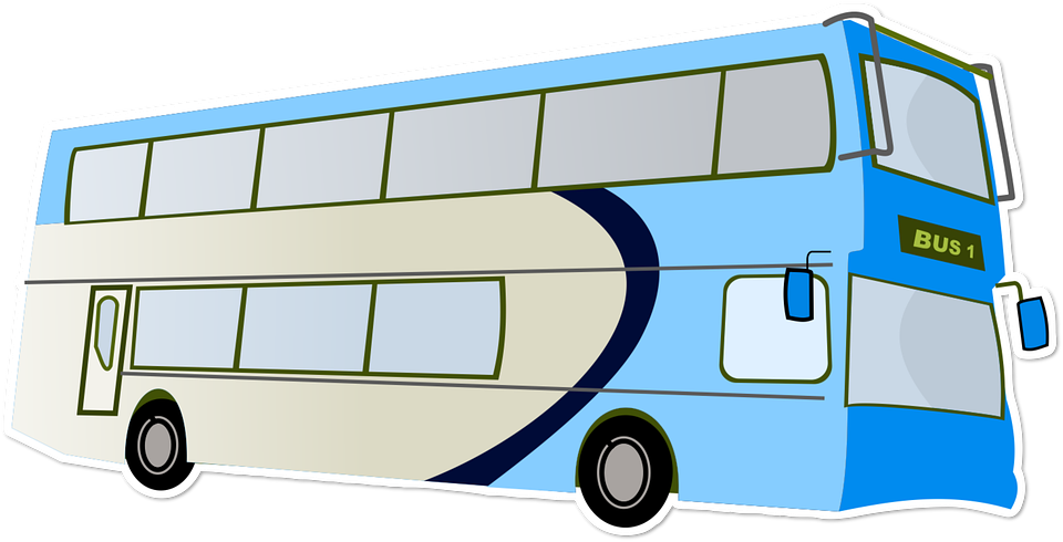 Free photo Fun Tour Holiday Bus Transport Double Decker - Max Pixel