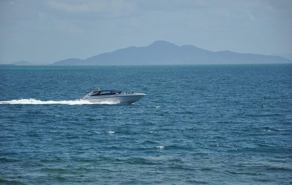 Sea, Speedboat, Thailand, Travel, Cruise, Vessel, Fun