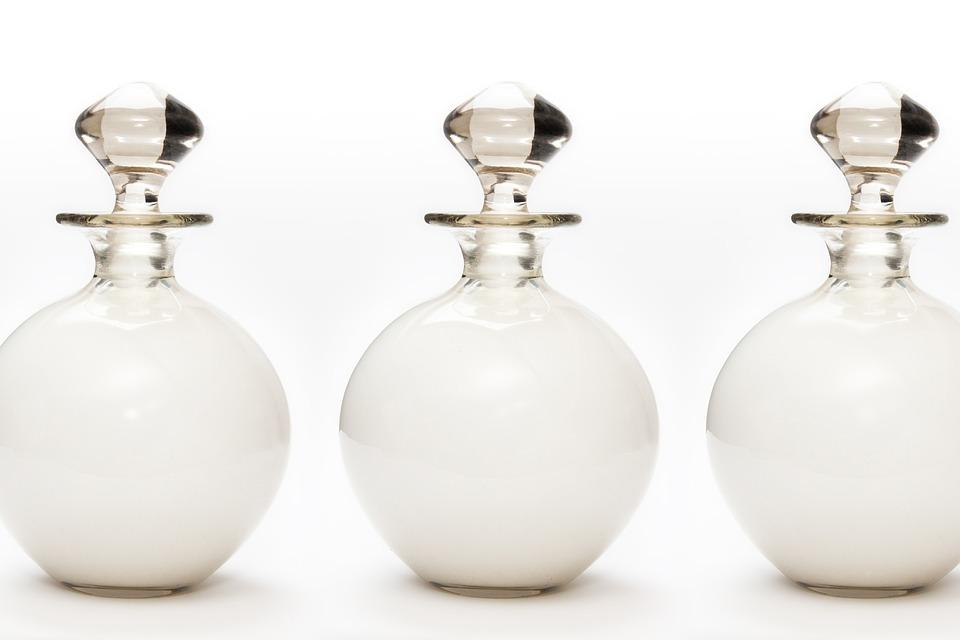 Bath Milk, Glass, Fund, Background, About, Ball