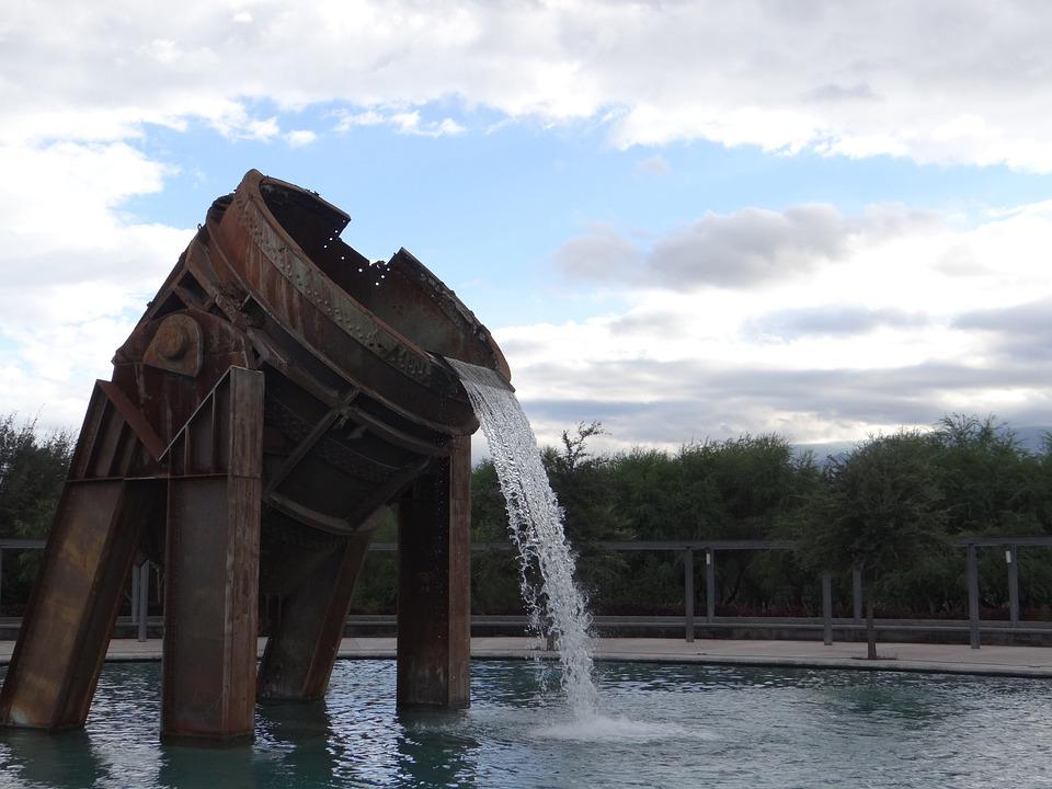 Bucket, Fundidora, Monterrey, Source, Industry, Park