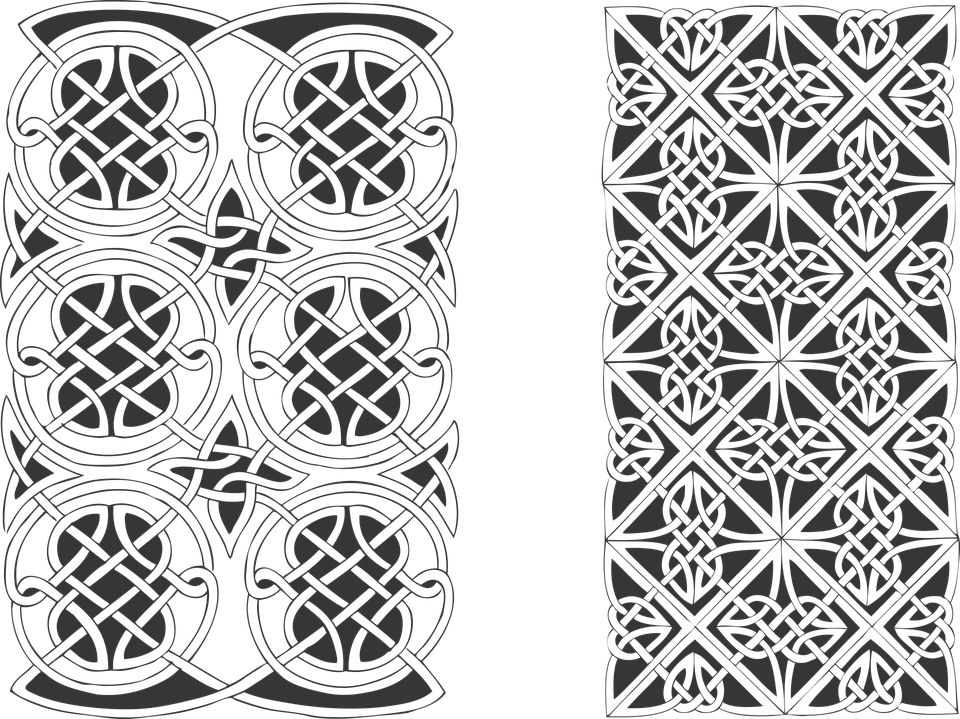 Funds, Gothic, Vector, Celtic, Patterns