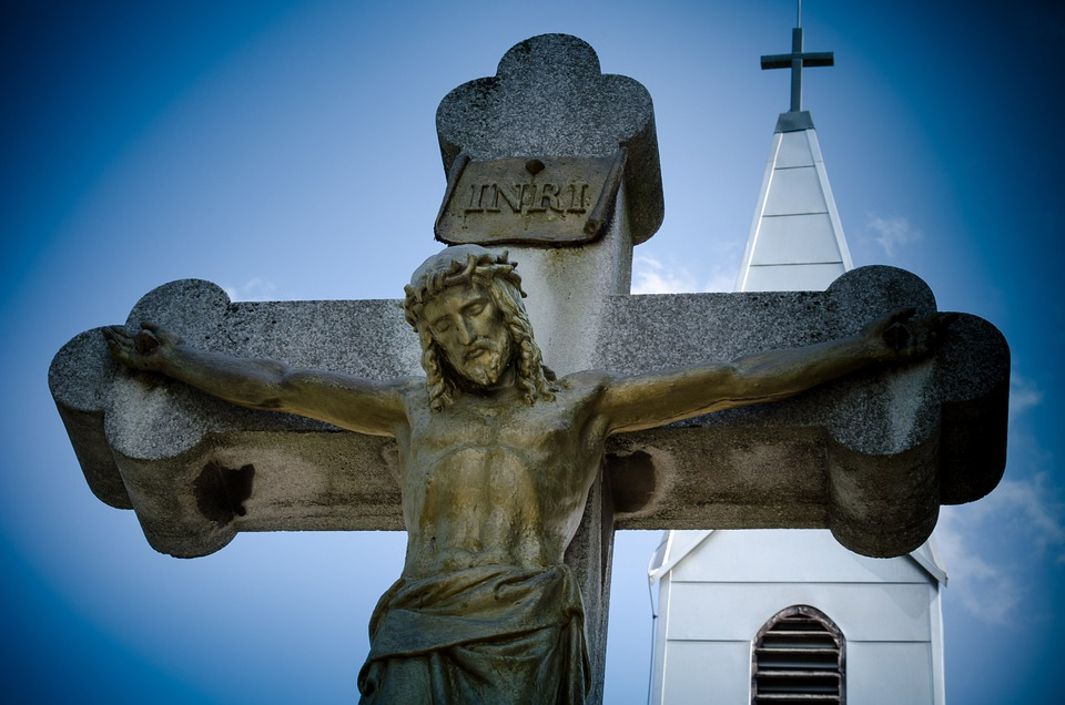 Cross, Stations Of The Cross, Funeral Home, Cemetery