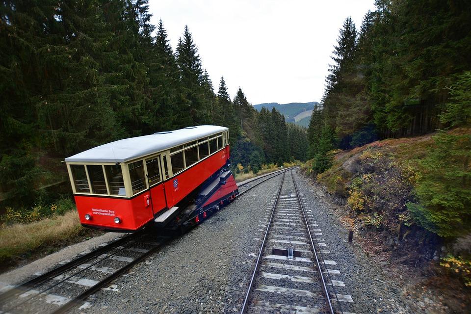 Funicular Railway, Thuringia Germany, Oberweißbach
