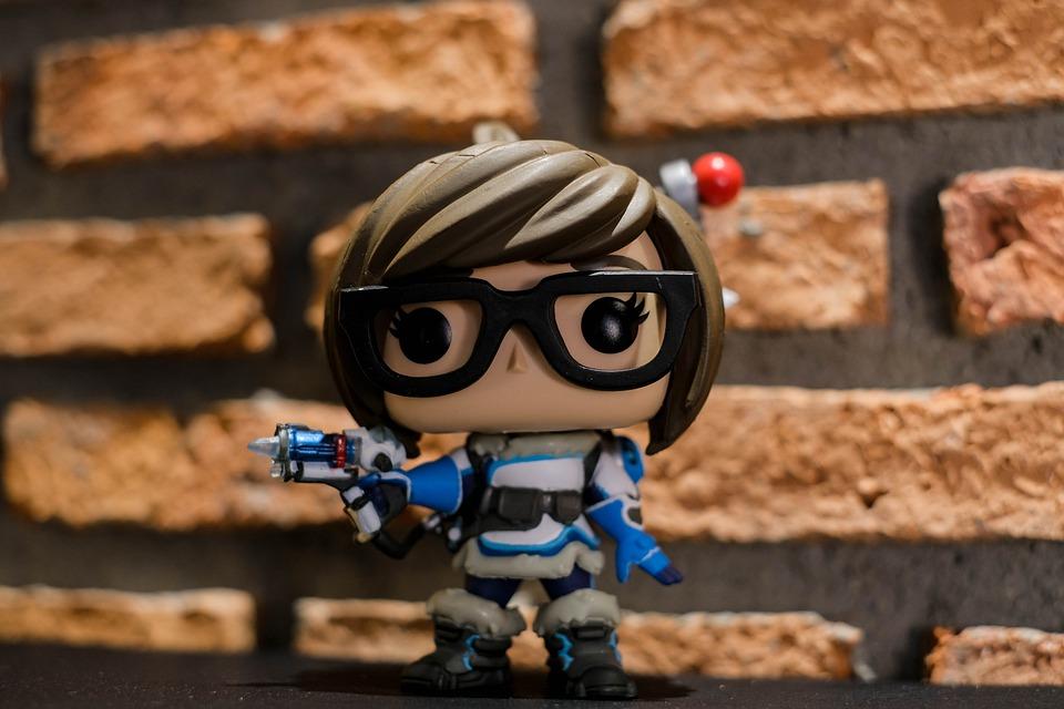 Overwatch, Funko, Pop, Toy, Funko Pop, Miniature