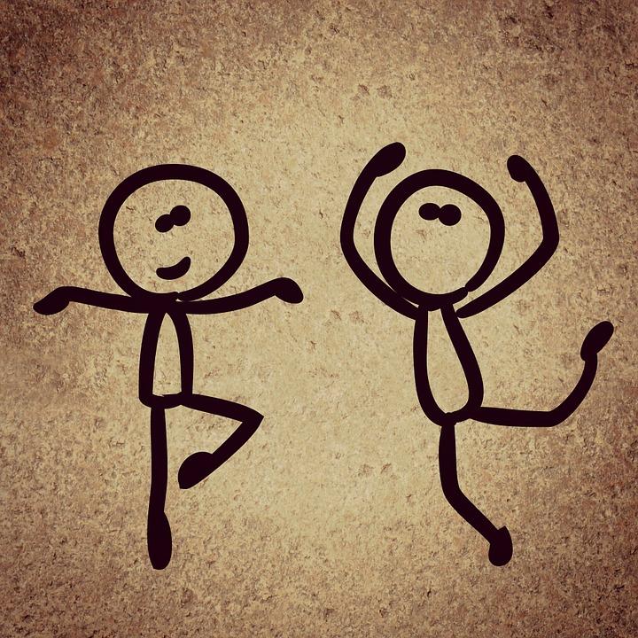 Dance, Background, Funny, Stick Figure