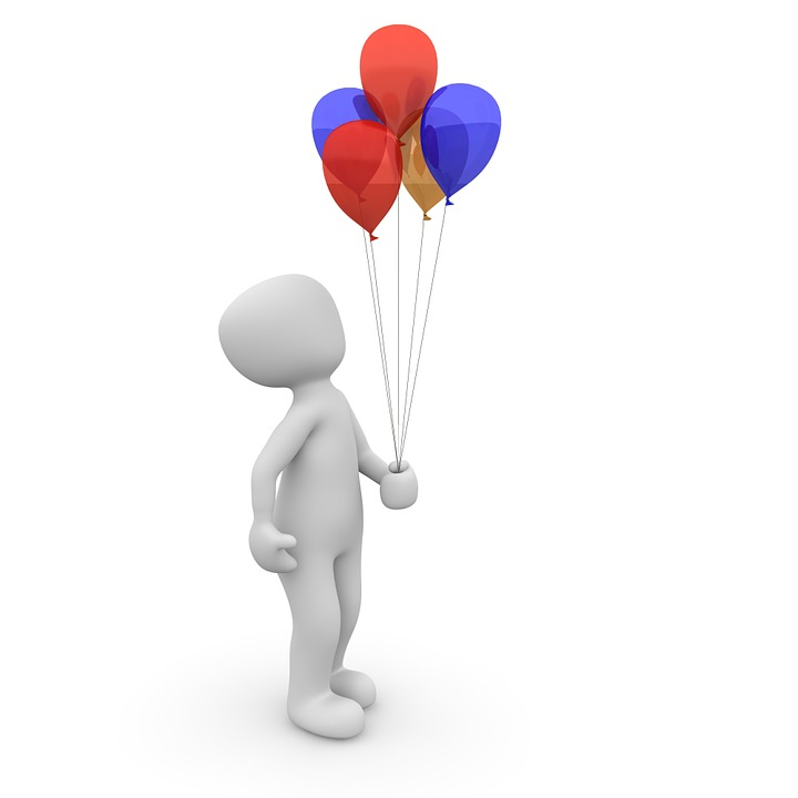 Balloon, Colorful, Float, Ballons, Birthday, Funny