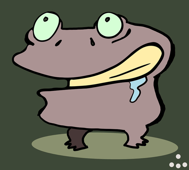 Creature, Monster, Zombie, Funny, Cartoon, Crazy