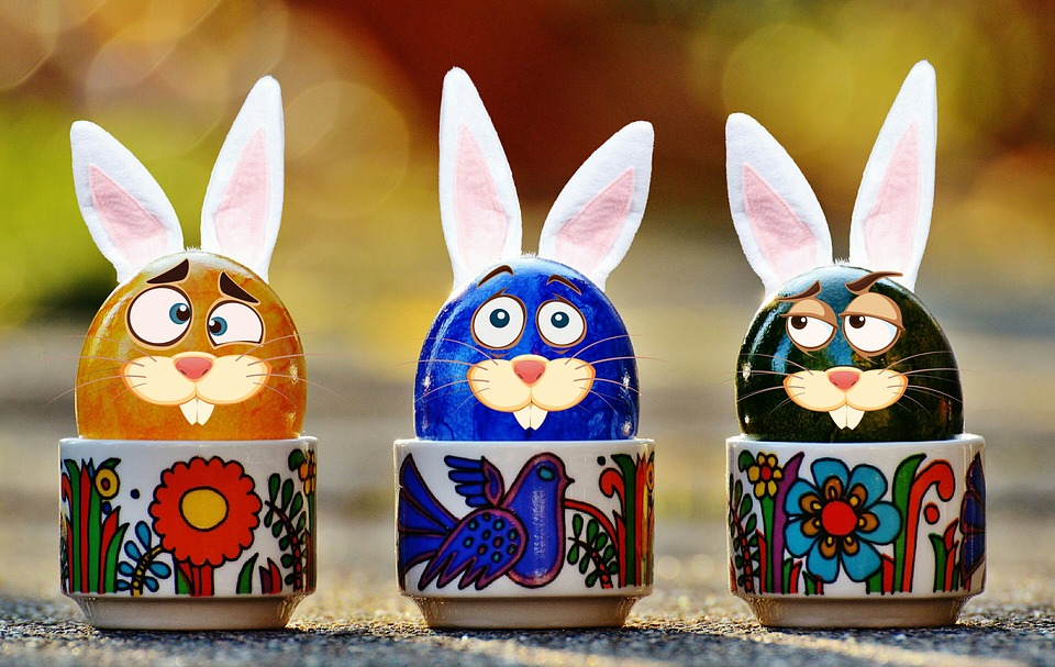 Easter, Easter Eggs, Funny, Hare, Rabbit Ears, Ears