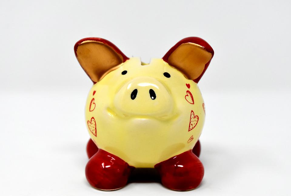 Piggy Bank, Money, Save, Ceramic, Economical, Funny